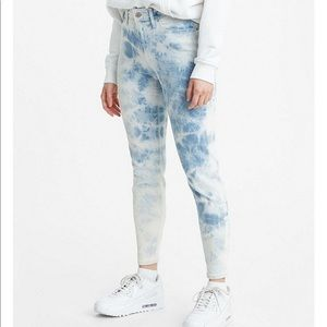 Levi's® 721 High Rise Tie Dye Ankle Skinny Jeans